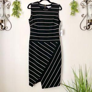 Calvin Klein | Asymmetrical Sheath Dress